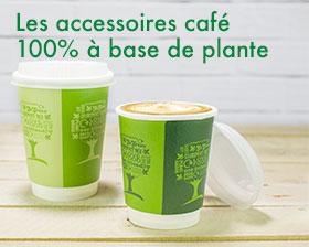 gobelet jetable compostable biodégradables vegware - gobelets bio pour l'espace café en entreprise et professionnels