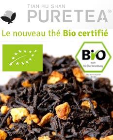 thé bio pour la pause en entreprise certifié agriculture biologique