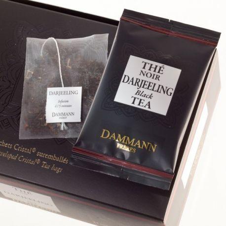 Dammann Frères - Thé Darjeeling - 4 boîtes de 24 sachets