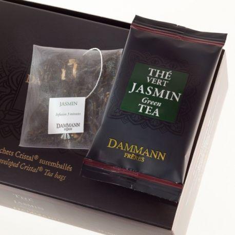 Dammann Frères - Infusion Jasmin - 4 boîtes de 24 sachets