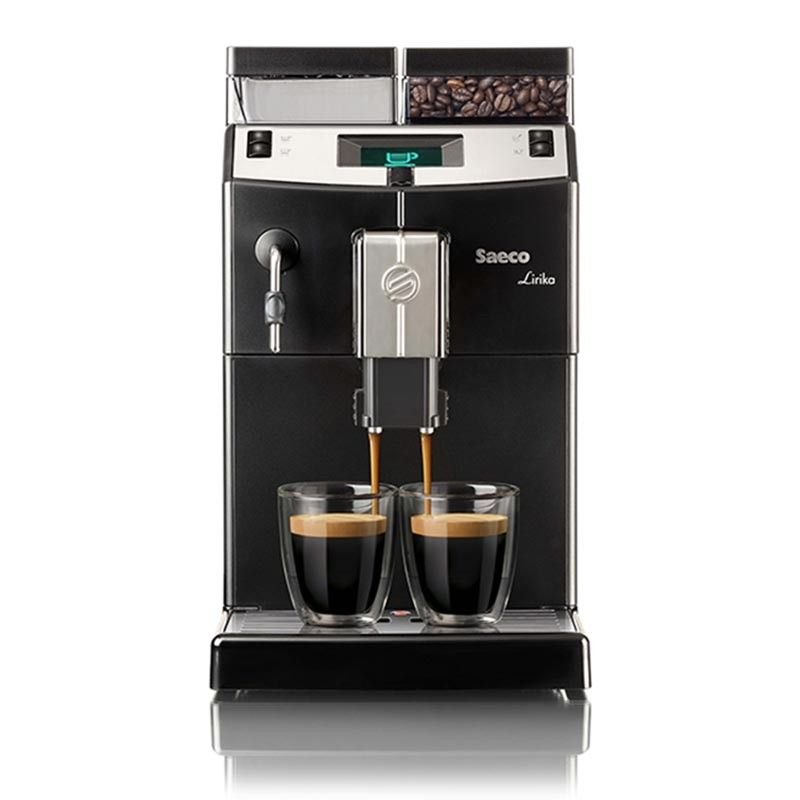 Machine caf en grains pour professionnels lirika saeco - Machine a cafe a grain saeco ...