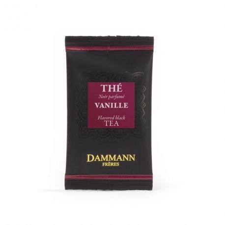 Thé noir Vanille Dammann Frères - 4 boîtes de 24 sachets