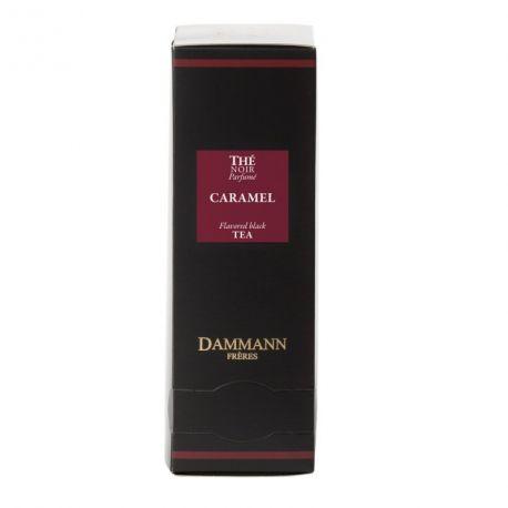 Thé noir Caramel Dammann Frères - 4 boîtes de 24 sachets