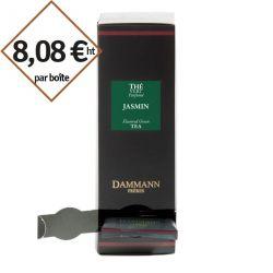 Thé vert au Jasmin Dammann Frères - 4 boîtes de 24 sachets suremballés pour entreprise pas cher