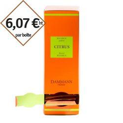 Rooibos Citrus Dammann Frères - 4 boîtes de 24 sachets suremballés pour entreprise pas cher
