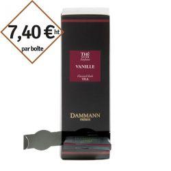 Thé noir Vanille Dammann Frères - 4 boîtes de 24 sachets suremballés pour entreprise pas cher