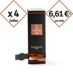 Thé vert Miss Dammann - 4 boîtes de 24 sachets suremballés pour la pause café en entreprise