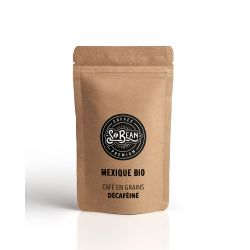 CAFE GRAINS MEXIQUE DECAFEINE BIO - 1 KG