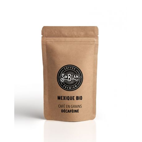 So Bean CAFE GRAINS MEXIQUE DECAFEINE BIO - 1 KG